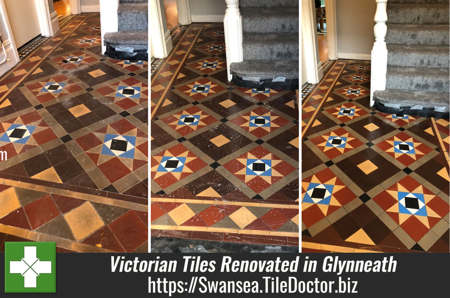 Renovation of Victorian floor in Glynneath